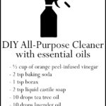 DIY Essential Oil All Purpose Cleaner Recipe