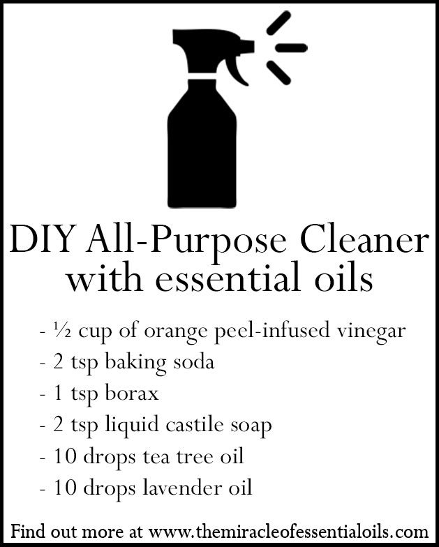 diy essential oil all purpose cleaner