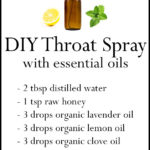 DIY Essential Oil Throat Spray