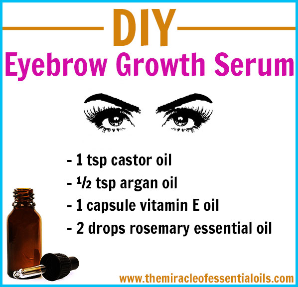 Diy Eyebrow Growth Serum For Thick Full Eyebrows The Miracle Of