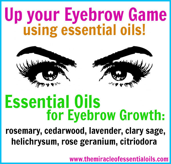 7 Essential Oils To Grow Your Eyebrows Fast The Miracle Of