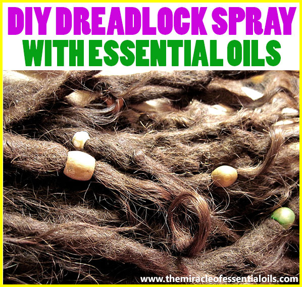 Looking for a natural way to care for your locs? Try this cheap, easy & effective DIY essential oil spray for dreads!