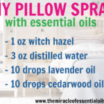 DIY Essential Oil Pillow Spray