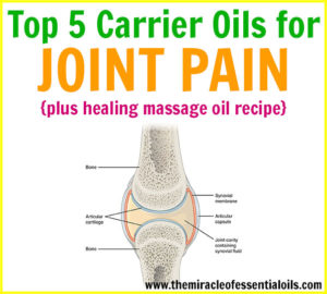 Top 5 Carrier Oils for Joint Pain Relief
