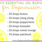 DIY Essential Oil Blend for Depression