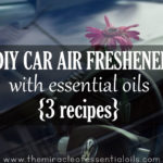 DIY Essential Oil Car Air Freshener
