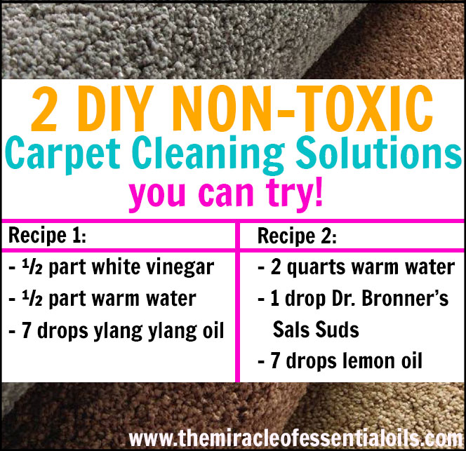 diy carpet shampoo