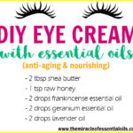 DIY Essential Oil Eye Cream