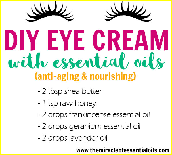 Eye creams are among the simplest beauty products to make at home. Find out how to make DIY essential oil eye cream in this post!