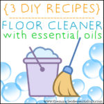 DIY Essential Oil Floor Cleaner