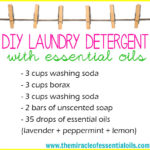 DIY Essential Oil Laundry Detergent – Powdered Version