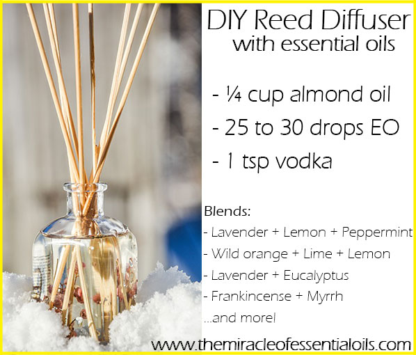 How To Make A Diy Essential Oil Reed Diffuser