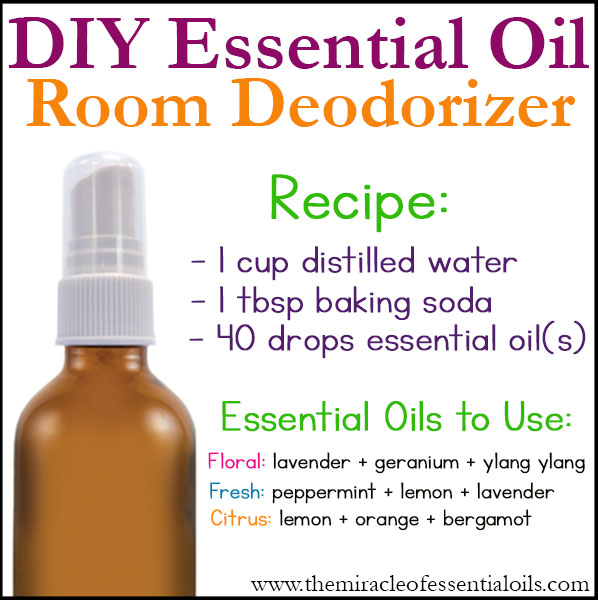 Diy Essential Oil Room Deodorizer The Miracle Of