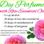 DIY Rose Essential Oil Perfume