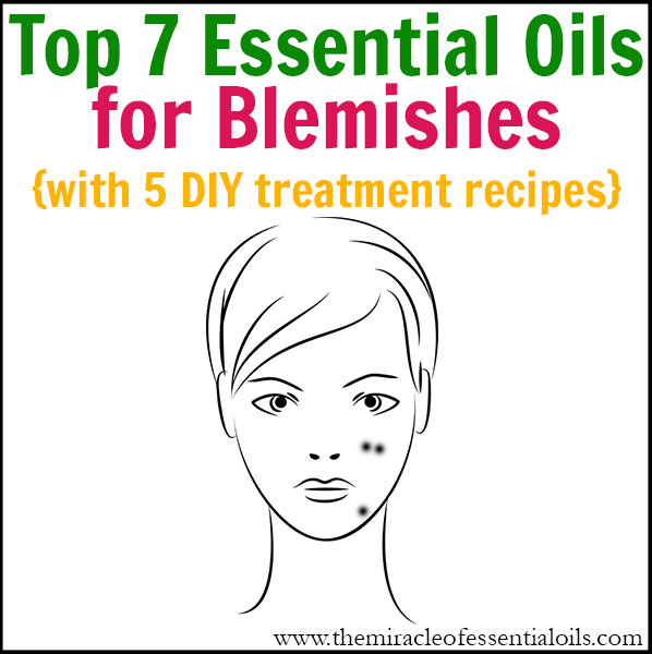 Discover the top 7 essential oils for blemishes and use them daily to get back your flawless appearance naturally!