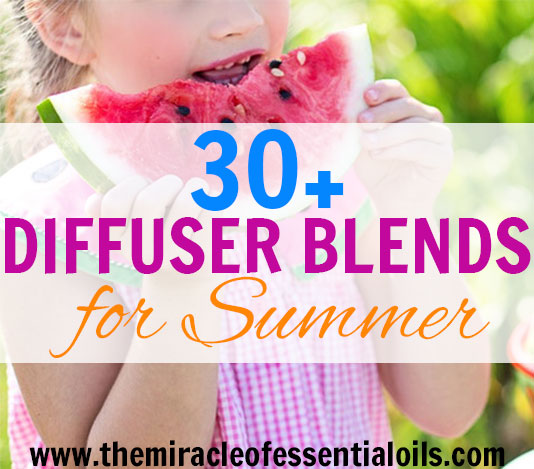 sun is shining and you can smell the ocean in the air! Summer's here! It's time to start using these 30 beautiful essential oil diffuser blends for summer! Enjoy ~