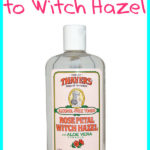Adding Essential Oils to Witch Hazel
