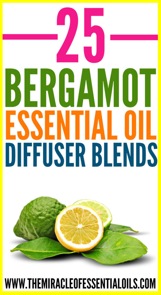 Below, check out our favorite 25 bergamot essential oil diffuser blends!