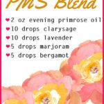 DIY PMS Essential Oil Blend