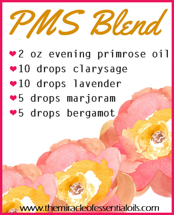 Just take a look at what this easy DIY PMS Essential Oil Blend can do for you at that time of the month!