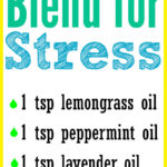 DIY Essential Oil Blend for Stress