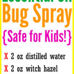 DIY Essential Oil Bug Spray