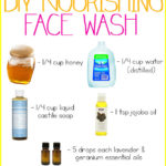 DIY Essential Oil Face Wash with Nourishing Honey