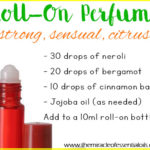 DIY Essential Oil Roll On Perfume