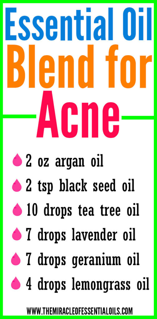 Need to treat those pesky pimples naturally? Use this DIY Essential Oil Blend for Acne!
