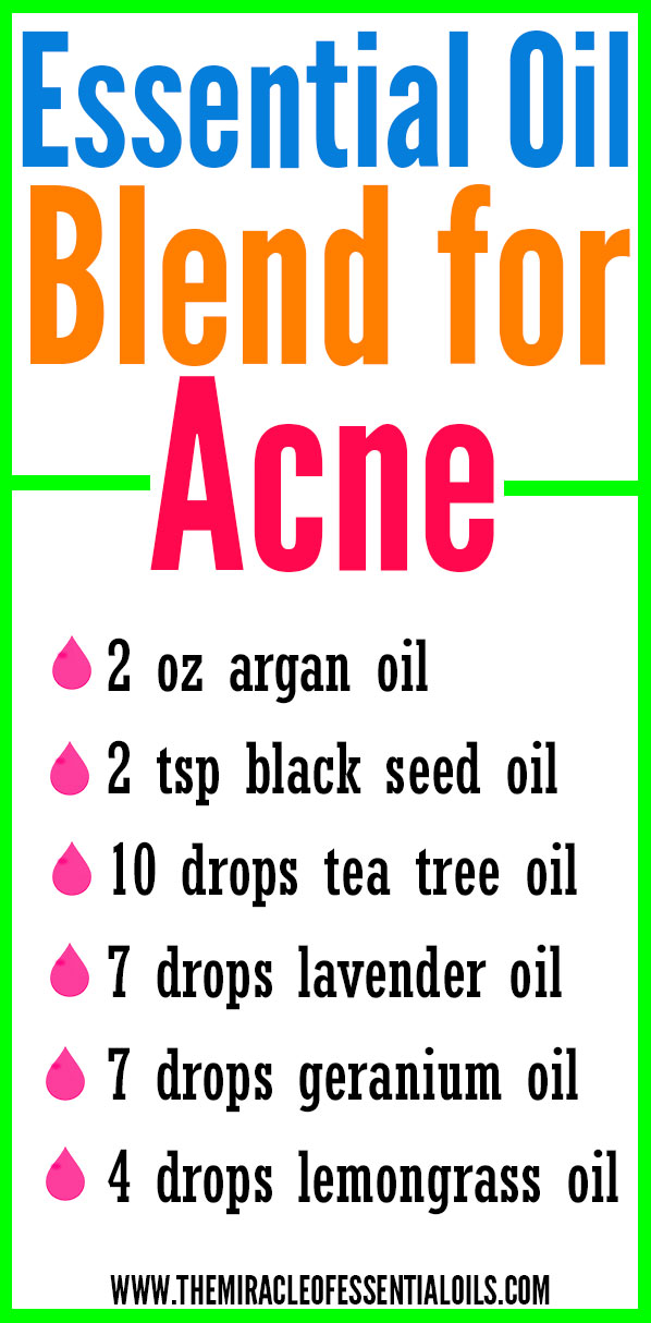 DIY Essential Oil Blend for Acne