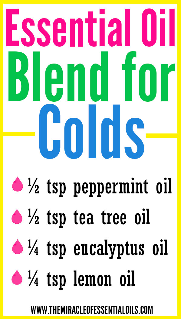 DIY Essential Oil Blend for Colds