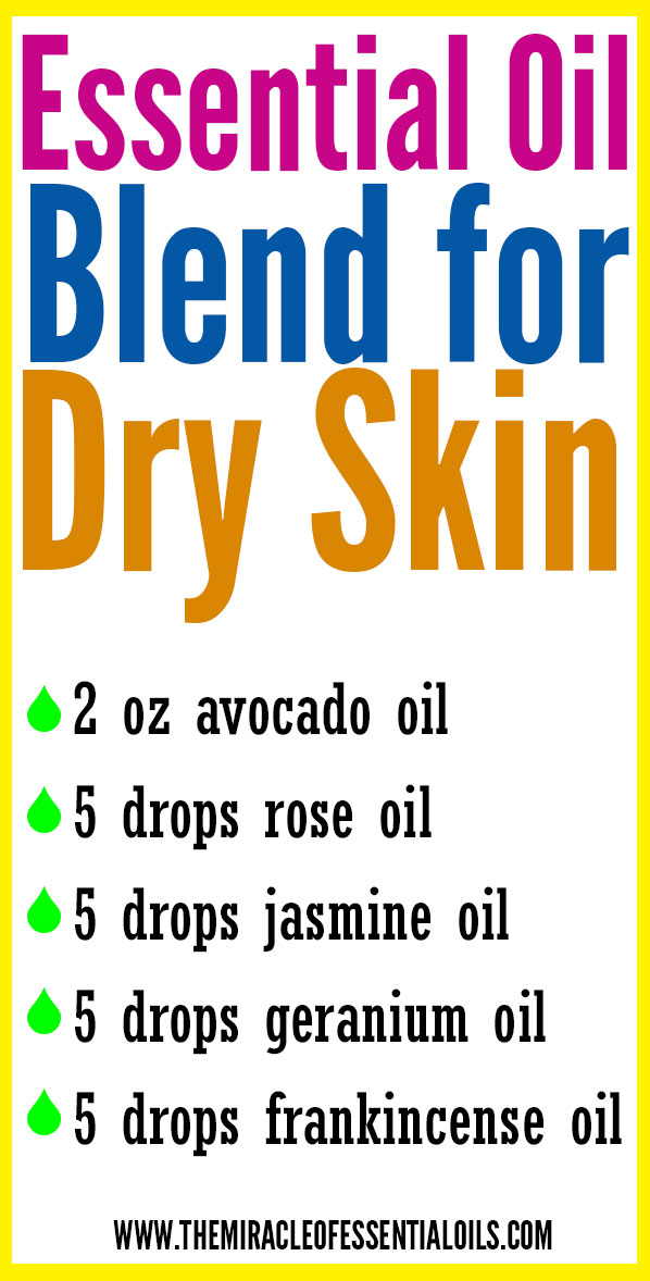 DIY Essential Oil Blend for Dry Skin