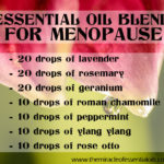 DIY Essential Oil Blend for Menopause