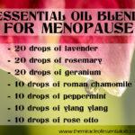 DIY Essential Oil Blend for Menopause