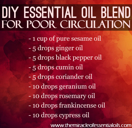 Top 8 Essential Oils For Poor Circulation The Miracle Of