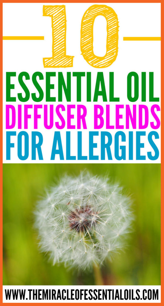 Are you someone who suffers from allergies more often than not? You should definitely try any of these essential oil diffuser blends for allergies as a natural treatment for quick relief!