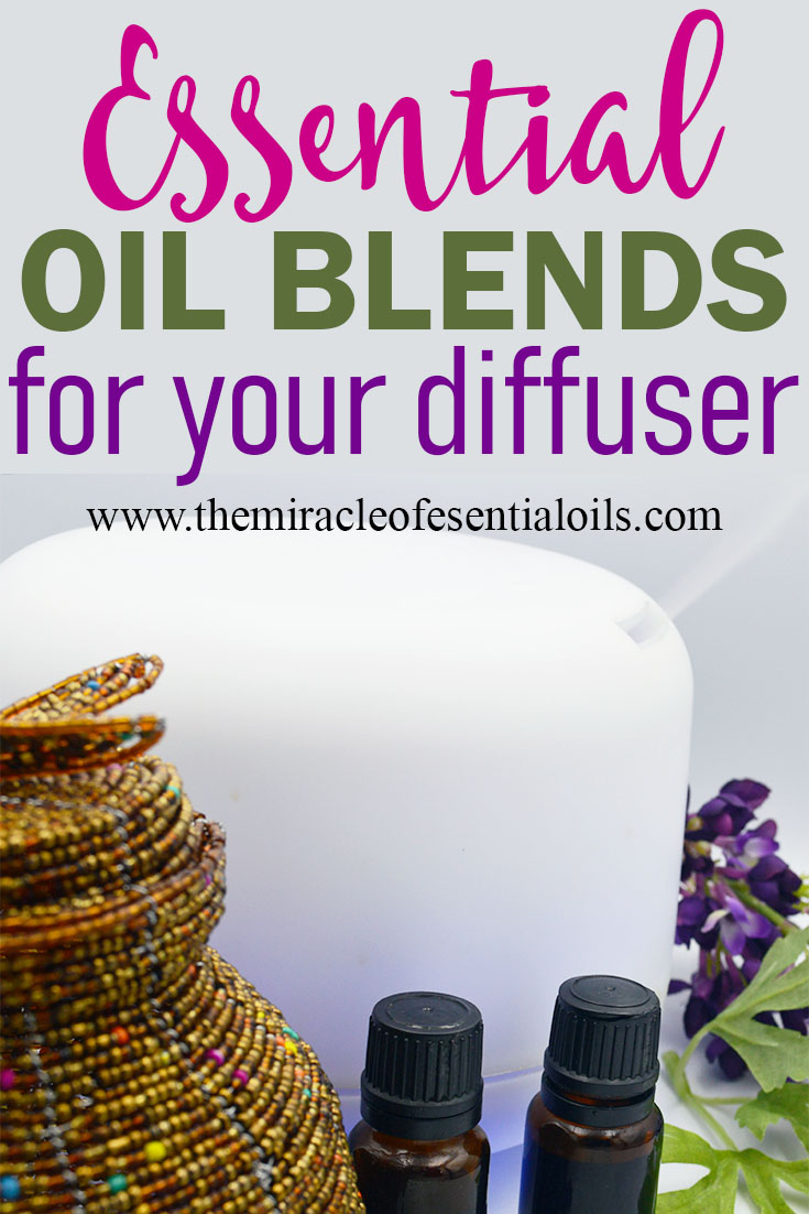 essential oil diffuser blends for colds