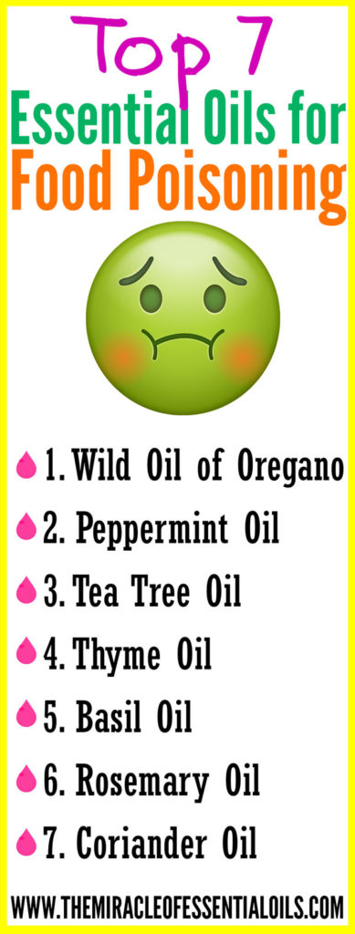 These essential oils for food poisoning offer fast relief naturally!