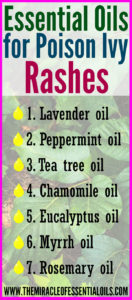 7 Essential Oils for Poison Ivy Rashes & 2 Recipes