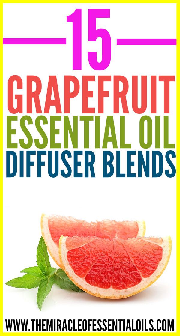 15 Best Grapefruit Essential Oil Diffuser Blends The