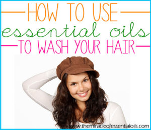 How to Wash Hair with Essential Oils