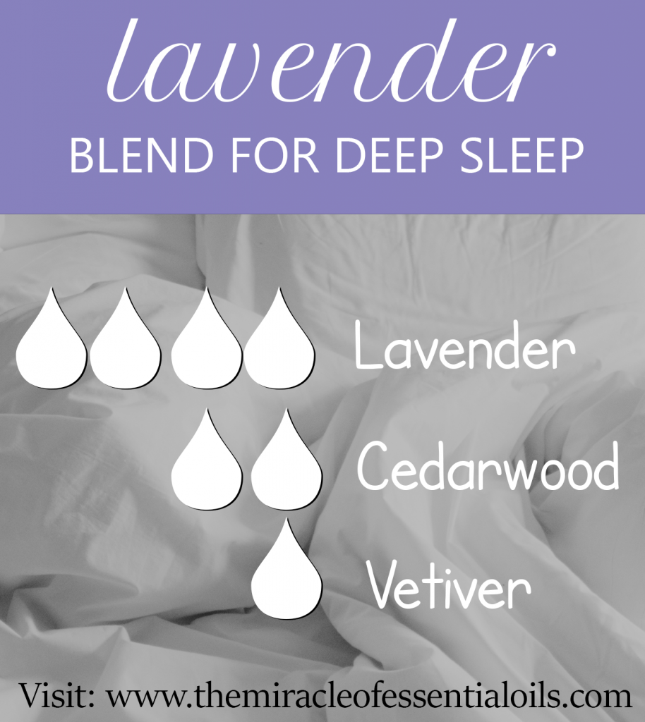 lavender essential oil blend for sleep
