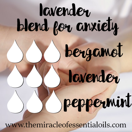 lavender blend for anxiety