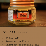 Homemade Essential Oil Tiger Balm Recipe