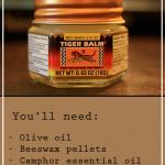 Homemade Essential Oil Tiger Balm Recipe