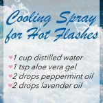 DIY Cooling Essential Oil Blend for Hot Flashes