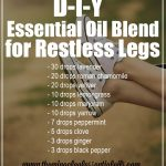 DIY Essential Oil Blend for Restless Legs