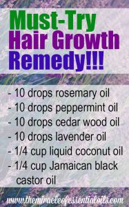 DIY Stimulating Essential Oil Blend for Hair Growth