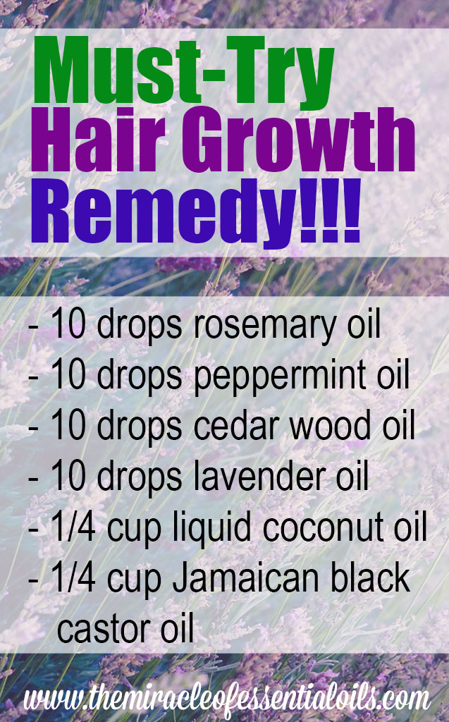 essential oil hair growth blend
