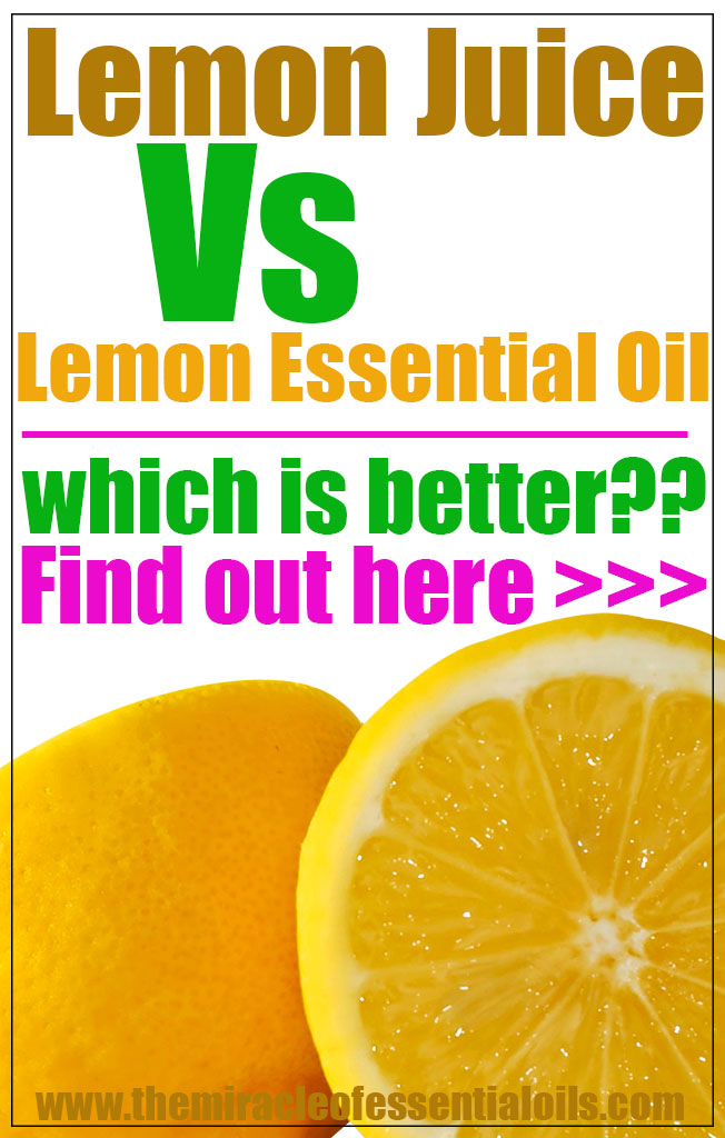 lemonjuicevslemonessentialoil